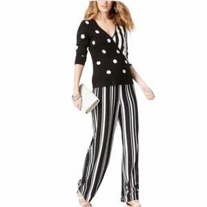 NWT INC. Wide Leg Urban Jungle Stripe Pant sz XL